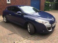 Renault Megane 1.9 dCi Coupe Dynamique 2dr New MOT Blue 2010