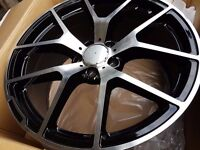 "NEW 19"" Mercedes Y Spoke Styled Alloys AMG Black edition C63 CLS CLK CLA SL SLK S E C B A CLASS"