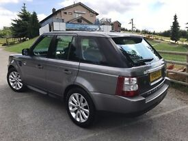 Range Rover Sport HSE 2009 3.6TDV8 Great spec and condition.