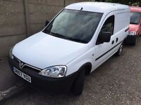 2007 Vauxhall COMBO .ONE OWNER. BRILLIANT CONDITION.BULKHEAD/PLYLINE. RECENTLY SERVICED.WARRANTY.