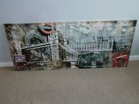 Big wall picture of London