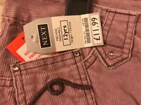 Girls Next Corded Jeans Age 12 BNWT RRP £11.99