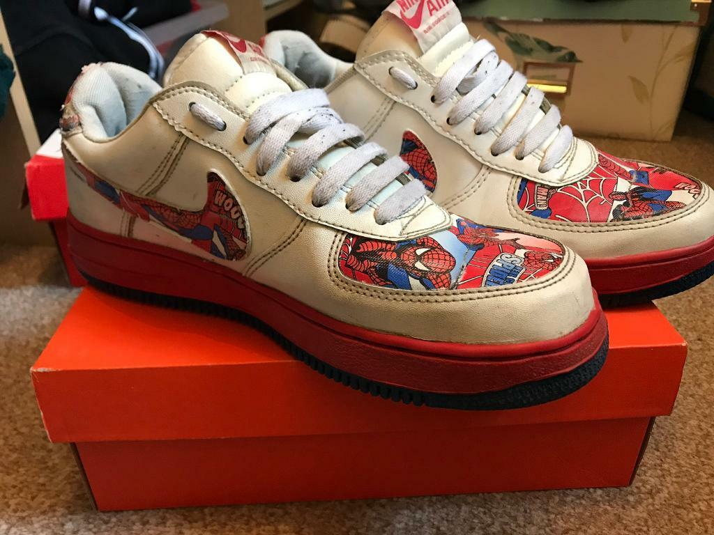 38a2bfbbcca0 Nike Air Force 1 Spider-Man
