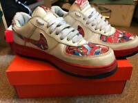 timeless design f9cb2 7aed5 Nike Air Force 1 Spider-Man