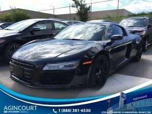 2014 Audi R8 V8, CLEAN CARPROOF, CARBON SIDE BLADE