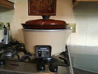 Used large capacity slow cooker
