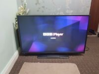 Hitachi 42 inch LED Smart TV, Full HD FreeView builtin , WiFi connectivity