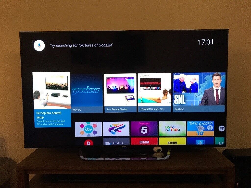 Sony KD-65X8509C. 65 inch 4K UHD HDR 3D SMART TV Boxed perfect condition 2 year guarantee