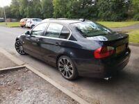 BMW 325i cream leather seats