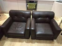 Leather Armchairs for Sale