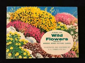 Brooke bond picture cards - Wild Flowers