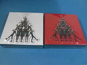 EXO-MIRACLES-IN-DECEMBER-KOREAN-VER-CHINESE-VER-CD-SET-TWO-POSTER