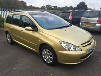 PEUGEOT 307 SW S 5/7 SEATER 2.0 HDI