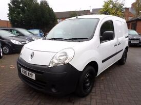 Renault Kangoo 1.5 dCi ML19 85 Panel Van 3dr, DIESEL, WHITE, HPI CLEAR, NO VAT, BARGAIN
