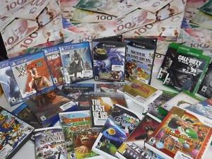 GET THE BEST VALUE FOR YOUR USED VIDEO GAMES AND CONSOLES! AT BUSTERS PAWN SHOP ON DIXIE AND DUNDAS!!