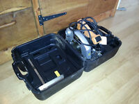 JCB circular saw two or three time used with hard case.