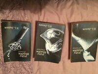 Fifty Shades of Grey Trilogy. Good Condition.