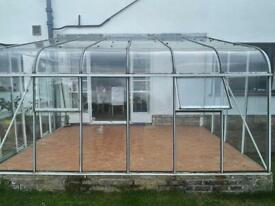 Lean to conservatory / green house free to collector
