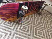 Complete skateboard setup