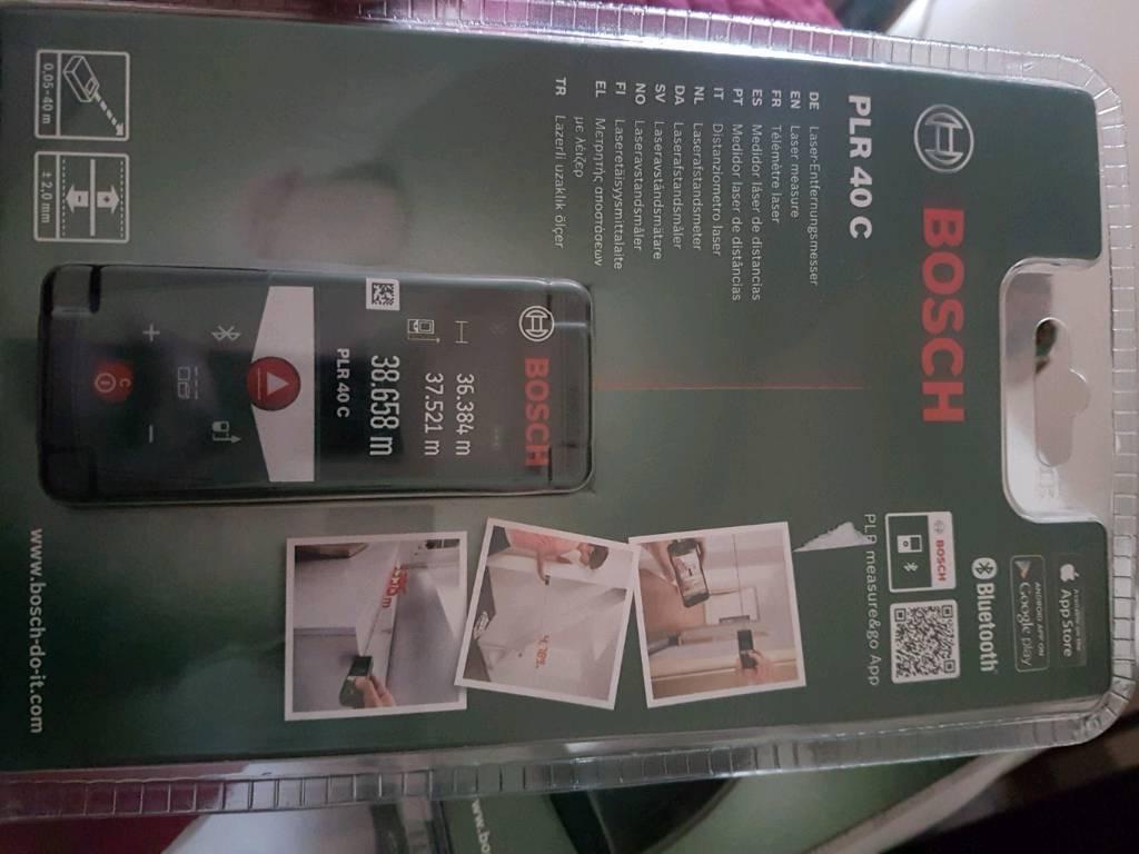 Bosch Laser Entfernungsmesser App : Bosch plr c in newcastle tyne and wear gumtree