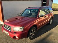 SUBARU FORESTER 2.0 XT TURBO **SPARES OR REPAIRS**