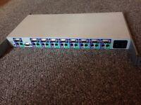 8 port KVM Switch - Compaq 106-1502-04-A