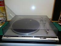 Technics SL-B21 D.C. Servo Automatic Turntable System P24 Cartridge Silver Record Player