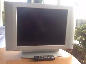 Philips 41cm Analogue TV with digi box and indoor aerial