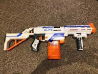 Nerf Elite Retaliator & Nerf Firestrike air foam dart guns