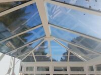 UPVC CONSERVATORY FOR SALE. 8 YEARS OLD, GOOD CONDITION. MUST BE DISMANTLED UPON PICK UP.