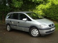 2001 Vauxhall Zafira 1.6 Comfort 7 Seater. **Very low miles** Full Years Mot**Excellent condition**
