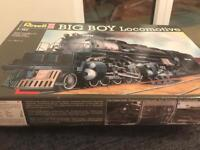 **SCALE MODEL KIT OF BIG BOY STEAM LOCOMOTIVE TRAIN**