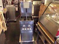 CATERING COMMERCIAL VALENTINE TWIN TANK FRYER KITCHEN RESTAURANT CAFE SHOP FRIED FOOD CHICKEN KEBAB