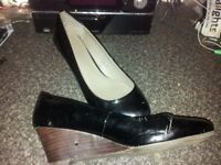 size 5 painted shoe slite wedge ideal for shop floor work