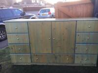 Large drawer unit