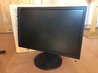 "NEC MultiSync 24"" LCD monitor"