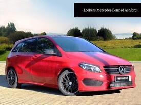 Mercedes-Benz B Class B 180 D AMG LINE PREMIUM (red) 2016-09-21
