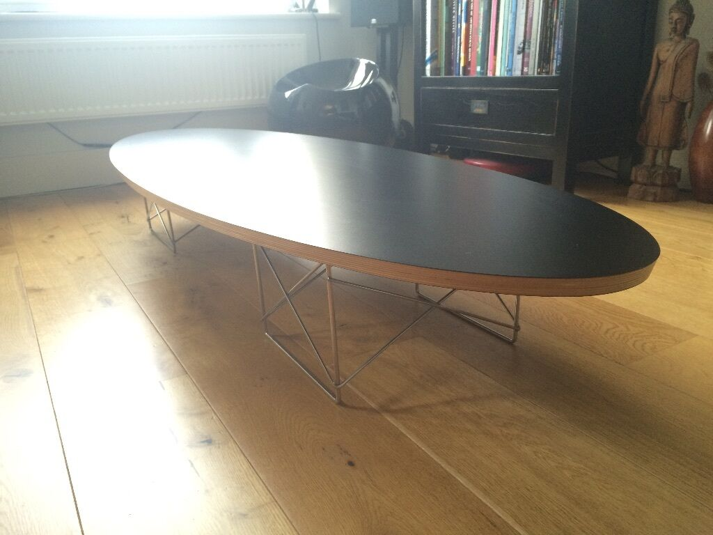 Eames Elliptical Coffee Table Replica In Hoxton
