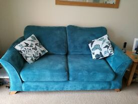 3 and 2 seater sofa cushions included. Good condition.