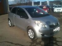 56 PLATE TOYOTA YARIS 1.0 T2 3DR 50000MILES £2650