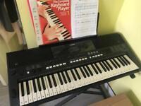 Keyboard Yamaha PSR E433 with stand