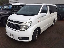 Nissan Elgrand E51 4x4,Very clean, inside, outside and underneath, Luxury MPV, 4x4
