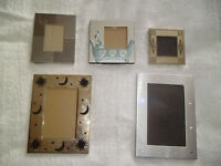 5 SMALL PICTURE FRAMES