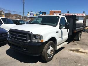 2004 Ford F-550 DUMP BOX / LOW KMS / DIESEL