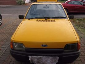FORD ESCORT MK 4, EXTREMELY RARE FLEET CAR, 1 FAMILY OWNED