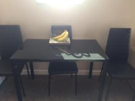 Dining table n 4 chairs