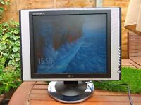 "LG Monitor Flatron 17"" screen monitor, full working order , clean, well looked after"
