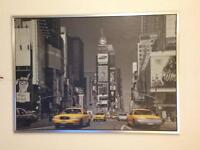 IKEA Picture Canvas New York Taxi 100x140 cm