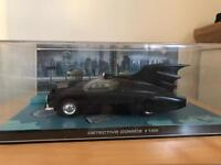 Die cast and dc comics batman movie scene display cases