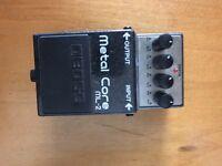 Boss metalcore guitar distortion pedal